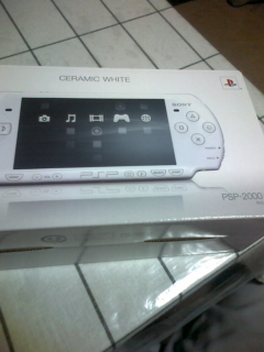 New PSPキター!
