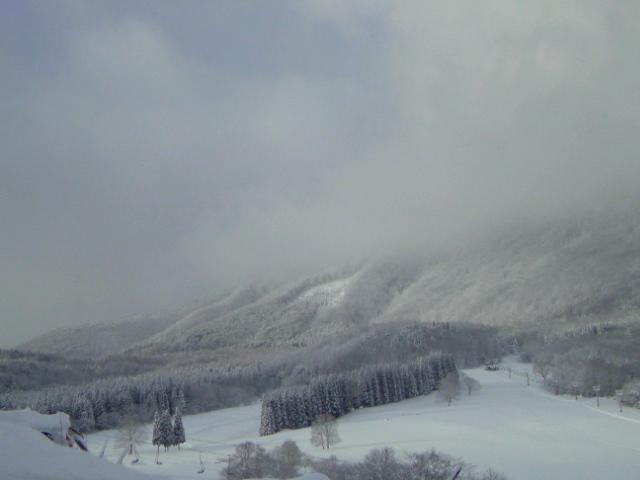 スキー2日目