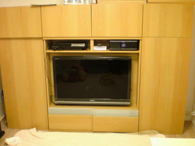 テレビ設置完了